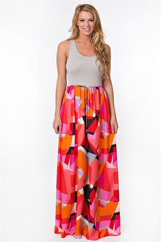 Starburst Maxi Dress